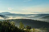 Hügelige Landschaft, Buzet