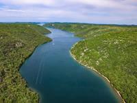 Wandern am Limski Kanal