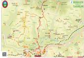 Wanderkarte - Wanderweg Pazin-Beram