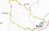 Wanderkarte - Wanderweg Sv. Sylvester