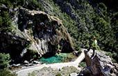 Wanderung Knin, Krka Quelle