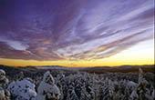 Winterlandschaft Bijele i Samarske stijene