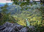Fels Kavran und Fluss Kupa