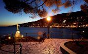 Opatija - Lungomare bei Nacht