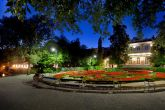 Villa Angiolina bei Nacht