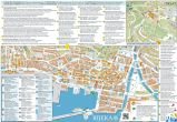 Rijeka - Touristische Magistrale Karte