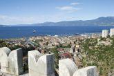 Trsat - Panoramablick über Rijeka