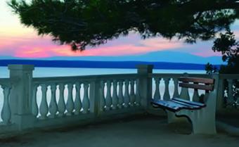 Sonnenuntergang - Uferpromenade Crikvenica