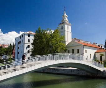 Brücke Hotel Kastel - Crikvenica