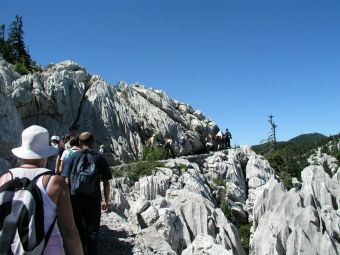 NP Nord-Velebit - Wanderweg Premuzic