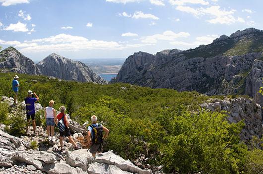 Nationalpark Paklenica - Herrliche Aussicht