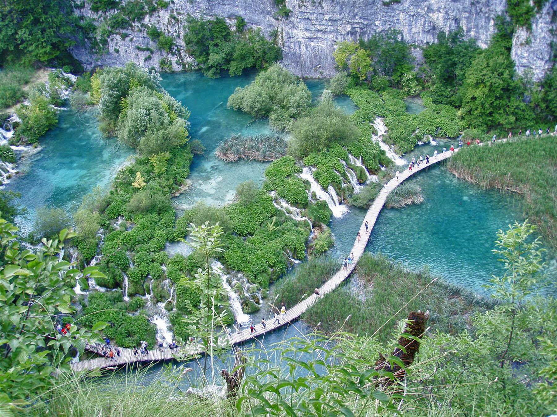 Nationalpark Plitvicer Seen Karte.Wandern Im Nationalpark Plitvicer Seen Die Besten