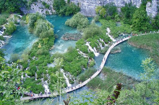 Nationalpark Plitvicer Seen - Wegenetz