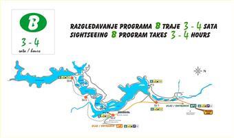 Nationalpark Plitvicer Seen - Wanderroute B