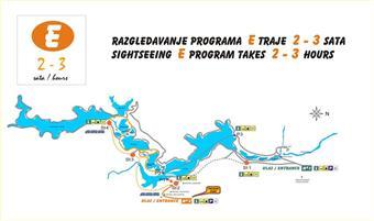 Nationalpark Plitvicer Seen - Wanderroute E