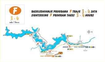 Nationalpark Plitvicer Seen - Wanderroute F