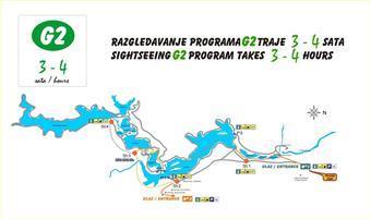 Nationalpark Plitvicer Seen - Wanderroute G2