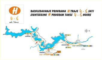 Nationalpark Plitvicer Seen - Wanderroute H
