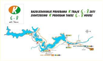 Nationalpark Plitvicer Seen - Wanderroute K1