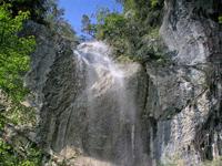 Naturpark Ucka -  Wasserfall Lehrpfad slap