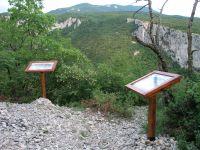 Naturpark Ucka - Tafeln Lehrpfad