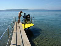 Barrierefreier Strand Crni Mol - Crikvenica