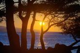 Sonnenuntergang Punta Rata Strand Brela