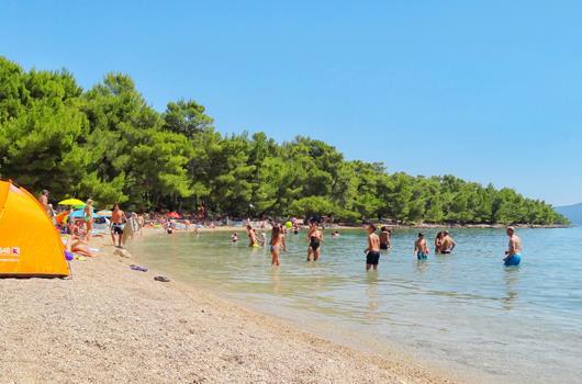 Vrboska - Strand Soline