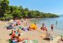 Beliebter Strand Soline