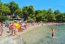 Glasklares Meer, Strand Soline