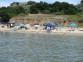 Strand Vela Przina vom Wasser aus