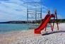 Strand Sepurine, Kinderrutsche