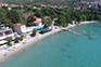Strand Srebreno - Sonnenliegen