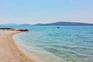 Strand Srma, Flach abfallend