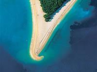 Strand Zlatni Rat - Foto: TZ Kroatien