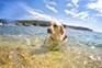Perfekter Hundestrand - Uvala Sakucani Pula