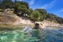 Schwimmen - Hundestrand Uvala Sakucani
