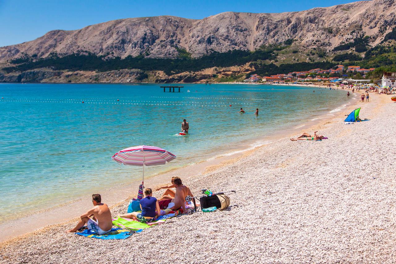 Strände auf der Insel Krk | Kroatien Reiseführer √ - Kroati.de