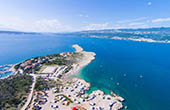 Ostküste Krk, Strand Konjska
