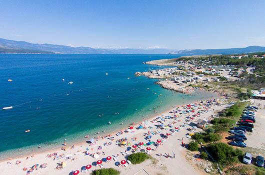 Strand Konjska, Silo