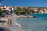 Strand Pecine und Promenade
