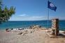 Blaue Flagge - Strand Drazica