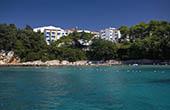 Hotel Koralj, Strand Drazica