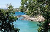 Felsiger Abschnitt, Drazica Strand