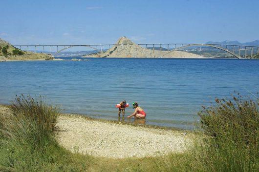 Strand Voz - Insel Krk