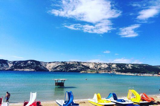 Strand Livacina - Insel Rab
