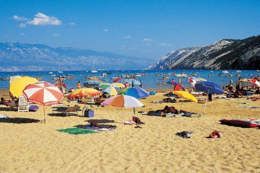 Paradiesstrand - Lopar - Kroatien