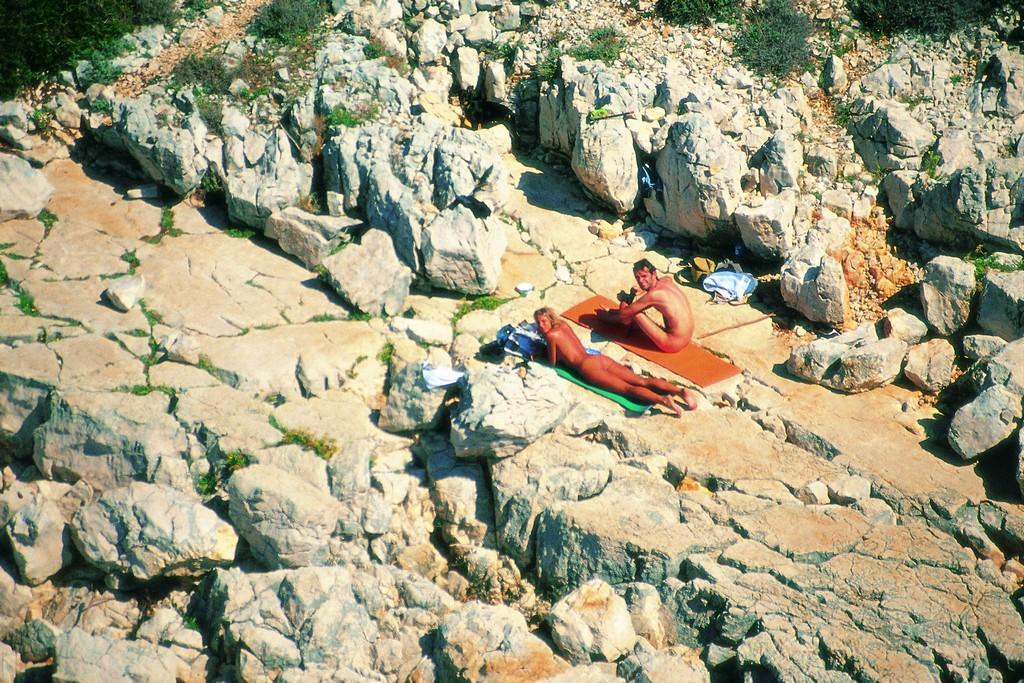 FKK Strand Kandalora auf der Insel Rab - Kroatien