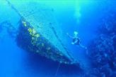 Schiffwrack in Kroatien