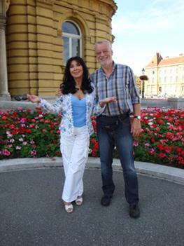 Der Weltstar Dunja Rajter und der Tierschützer Volker Fritzemeier